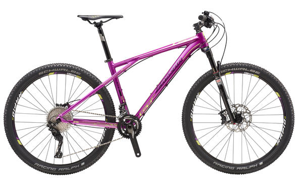 GT Zaskar LE 27.5 Expert Color: Transparent Purple/Neon Yellow