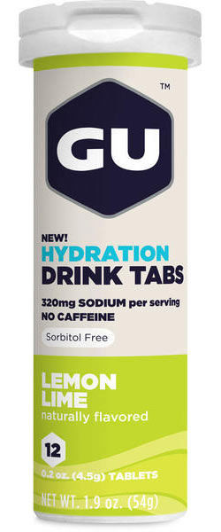 GU Hydration Drink Tabs Flavor: Lemon Lime