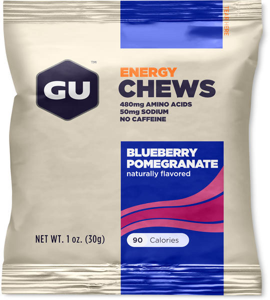 GU Energy Chews Flavor: Blueberry Pomegranate