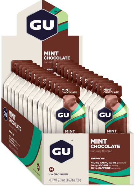 GU Energy Gel Flavor | Size: Mint Chocolate | 24-pack