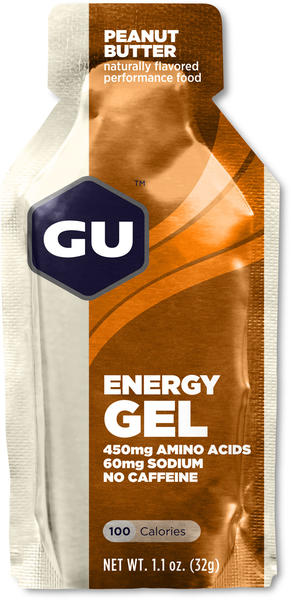 GU Energy Gel Flavor | Size: Peanut Butter | Single Serving