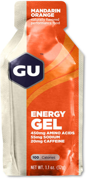 GU Energy Gel Flavor | Size: Mandarin Orange | Single Serving