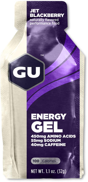 GU Energy Gel Flavor | Size: Jet Blackberry | Single Serving
