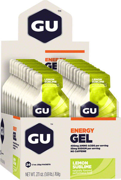 GU Energy Gel - Lemon Sublime (32g) - Box of 24