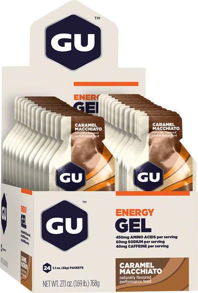GU Energy Gel - Caramel Macchiato (32g) - Box of 24