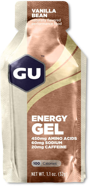 GU Energy Gel Flavor | Size: Vanilla Bean | Single Serving