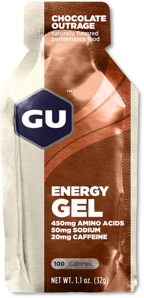 GU Energy Gel Flavor | Size: Chocolate Outrage | Single Serving