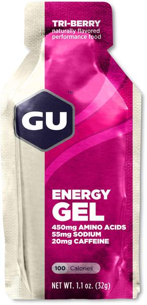 GU Energy Gel Flavor | Size: Tri Berry | Single Serving