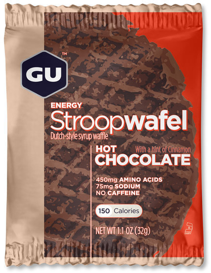 GU Energy Stroopwafel Flavor | Size: Hot Chocolate | Single Serving