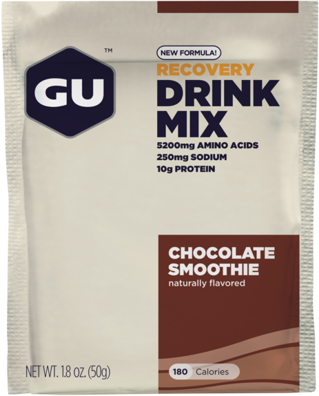 GU Recovery Brew Flavor | Size: Chocolate Smoothie | Single Serving