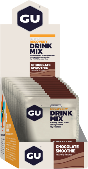 GU Recovery Brew Flavor | Size: Chocolate Smoothie | Single Serving 12-pack