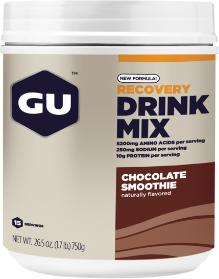 GU Recovery Brew Flavor | Size: Chocolate Smoothie | 15-serving