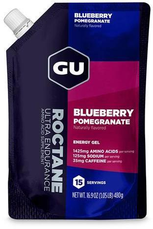 GU Roctane Energy Gel Flavor | Size: Blueberry Pomegranate | 15-serving