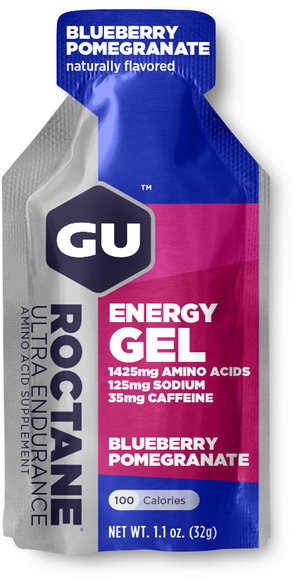 GU Roctane Energy Gel Flavor | Size: Blueberry Pomegranate | Single Serving