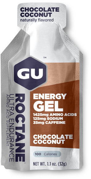 GU Roctane Energy Gel Flavor | Size: Chocolate Coconut | Single Serving