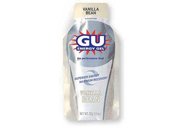 GU GU Energy Gel Single Serve Flavor: Vanilla Bean