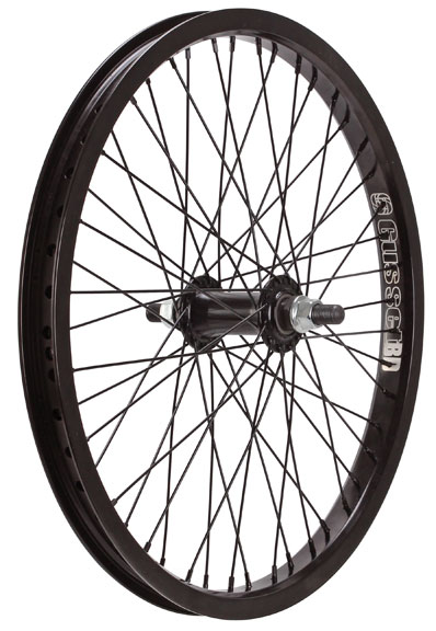 "Gusset Black Dog 20"" Wheels Axle 