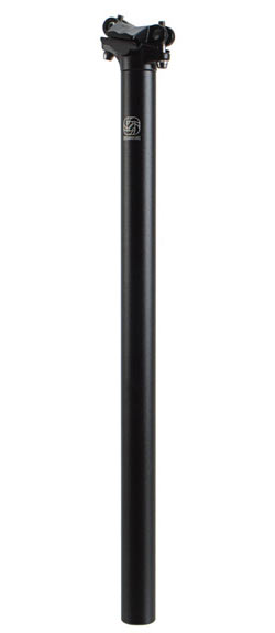Gusset Lofty XXL Seatpost Color | Diameter | Length | Offset: Black | 27.2mm | 450mm | 10mm