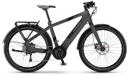 Haibike Urban Plus Color: Titan/Anthracite Matte