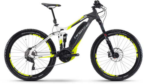 Haibike SDURO Allmtn 6.5 Color: Titan/White/Lime