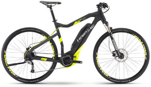 Haibike SDURO Cross 4.0 Color: Black/Lime Matte