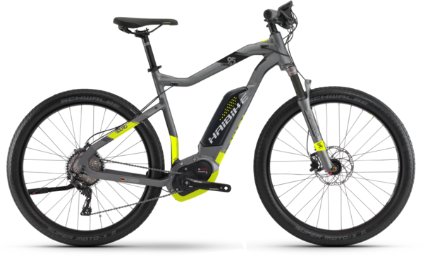 Haibike SDURO Cross 9.5 High-step Color: Titan/Lime/Black