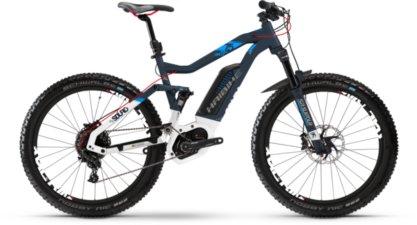 Haibike SDURO FullLife LT 7.5 Ladies Color: Blue/White Matte