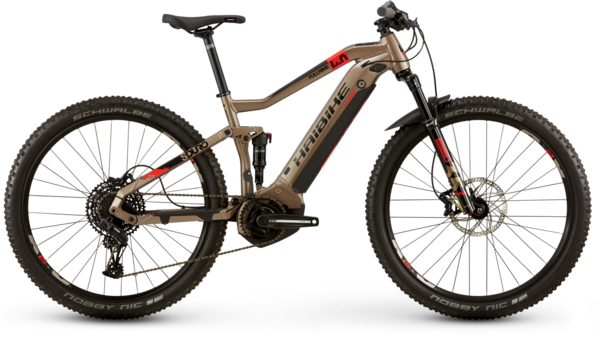 Haibike SDURO FullNine 4.0 Color: Bronze/Black/Red