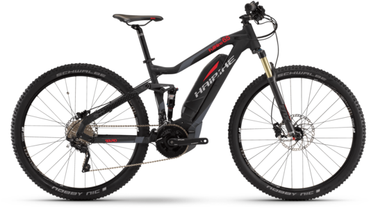 Haibike SDURO FullNine 6.5 Color: Black/Red/Titan Matte