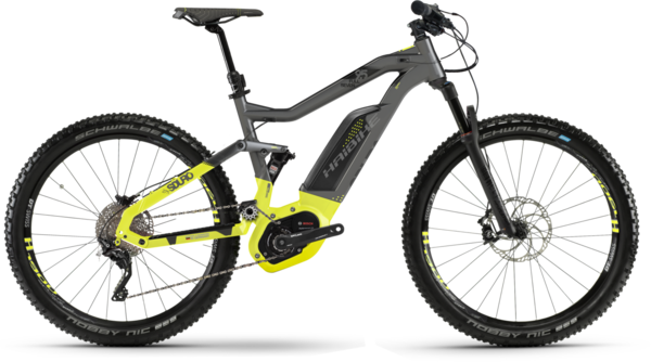 Haibike SDURO FullSeven 9.5 Color: Titan/Lime/Black