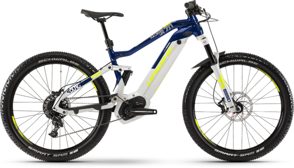 Haibike SDURO FullSeven Life 7.0 Color: Gray/Blue