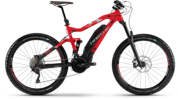 Haibike SDURO FullSeven LT 10.0 Color: Red/Black/Silver Matte