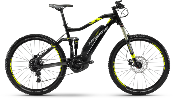 Haibike SDURO FullSeven LT 4.0 Color: Black/Anthracite/Lime