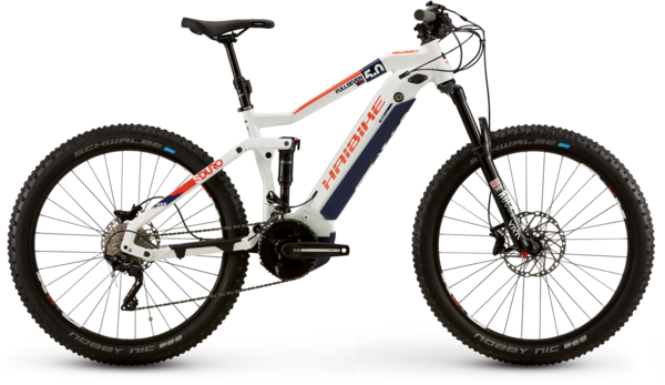 Haibike SDURO FullSeven LT 5.0 Color: White/Purple/Orange