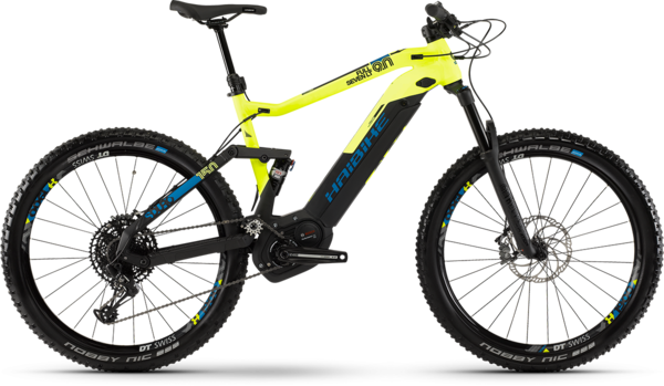 Haibike SDURO FullSeven LT 9.0 Color: Black/Yellow