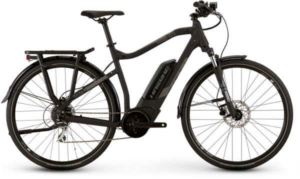 Haibike SDURO Trekking 1.0 Color: Black/Grey