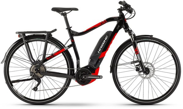 Haibike SDURO Trekking 2.0 Hi Step Color: Black/Red
