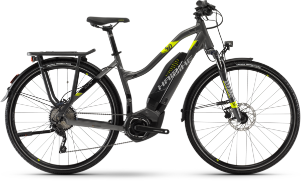 Haibike SDURO Trekking 4.0 Low-step Color: Gray