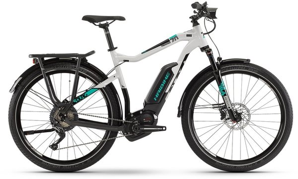 Haibike SDURO Trekking 7.0 Hi Step Color: Black/Grey