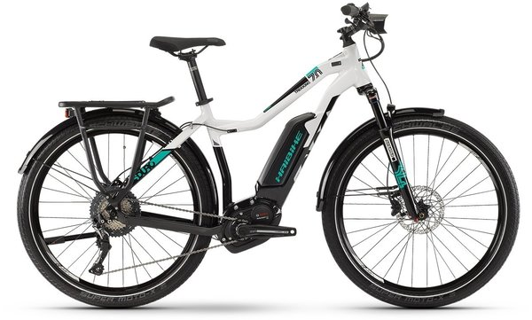 Haibike SDURO Trekking 7.0 Lo Step Color: Black/Grey