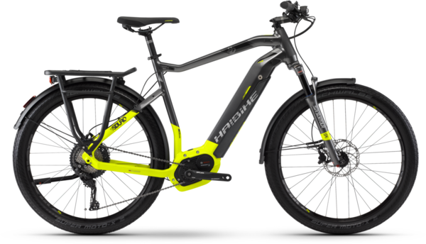 Haibike SDURO Trekking 9.0 High-step Color: Gray