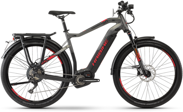 Haibike SDURO Trekking S 9.0 Hi Step Color: Gray