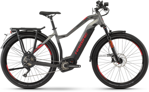 Haibike SDURO Trekking S 9.0 Lo Step Color: Gray