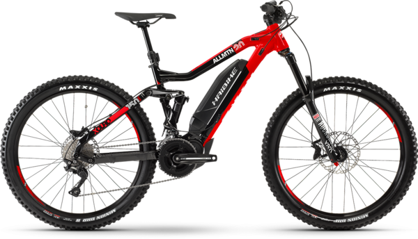 Haibike XDURO AllMTN 2.0 Color: Black/Red