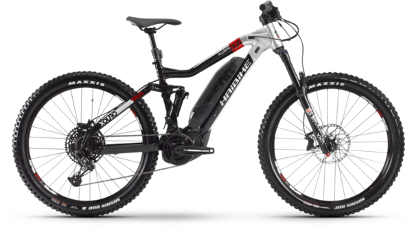 Haibike XDURO AllMtn 2.0 Color: Black/Red/Grey