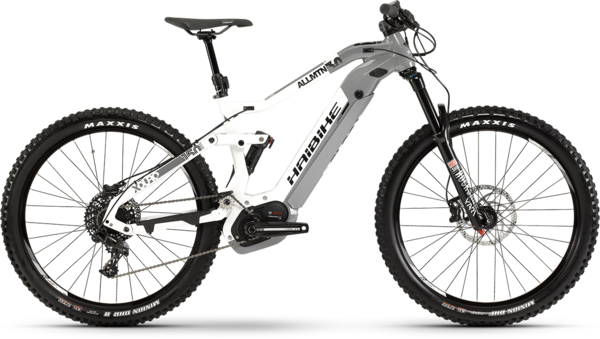 Haibike XDURO AllMtn 3.0 (i5) Color: White/Gray