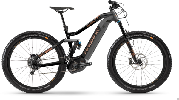 Haibike XDURO AllMtn 6.0 Color: Black/Titan