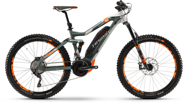 Haibike XDURO AllMtn 8.0 Color: Green