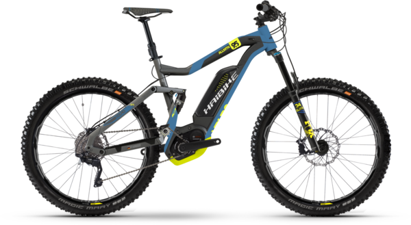 Haibike XDURO AllMtn 9.5 Color: Yellow
