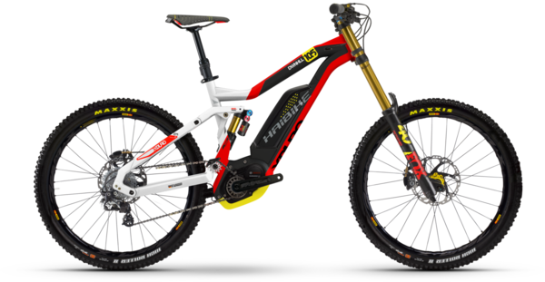 Haibike XDURO Dwnhll 10.5 Color: Red